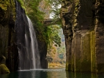 Waterfall in Japan