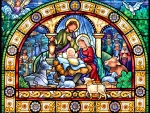 Stained Glass Holy Night F