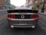 The Crew Ford Mustang Shelby back view