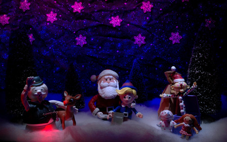 rudolph and friends 3d and cg amp abstract background