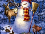 Night Watchman Snowman F1C