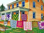 Quilts, Nine on the Line F