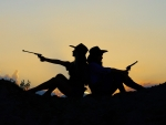 Cowgirl Silhouettes