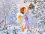 Winter's Little Angel