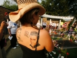 Cowgirl Elvis Fan..