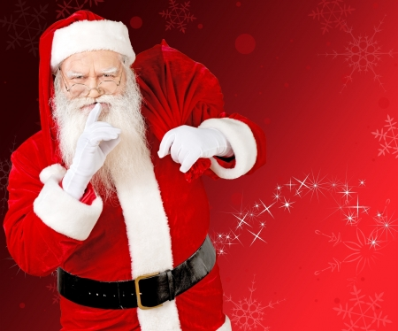 Santa Claus - craciun, christmas, red, santa, old, man, white