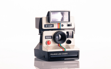 Polaroid Camera - camera, photo, vintage, electronics, Style, photography, classic, Retro, instant picture, technology, picture