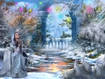 Fantasy winter nature