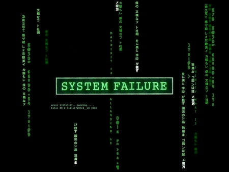 System Failure - xp, matrix, windows, mac, technology, ccv, systemfailiure, apple
