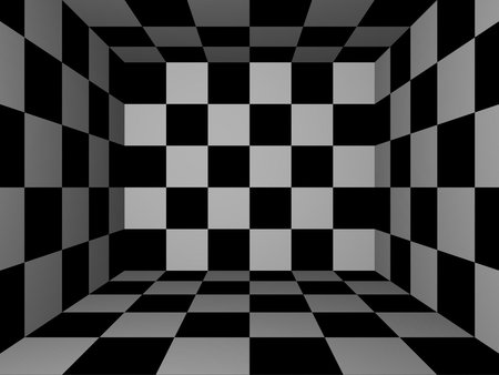 Black white 3d and cg abstract background wallpapers for Black and white 3d wallpaper
