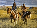 Native American Riders F