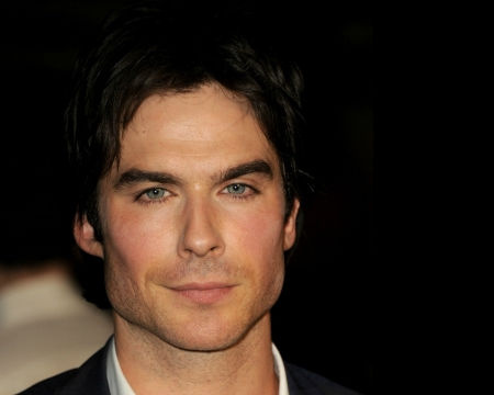 Ian Somerhalder - man, actor, Ian Somerhalder, black, face