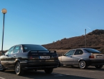 Audi 80 and BMW 316i