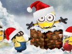 Minion in the Chimney