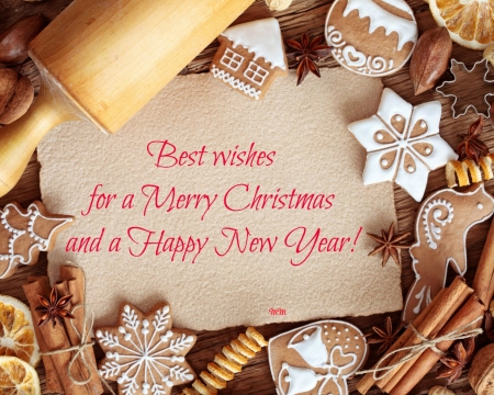 Merry Christmas - greetings, wishes, Xmas, Happiness, Holidays, Christmas, New Year