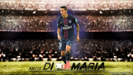 Angel Di Maria - Di, PSG, Angel, Maria