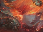 Lux Lady of Fire