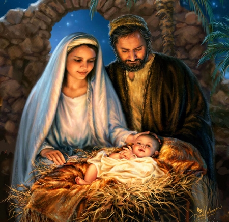 Nativity - parents, mary, child, joseph, bethlehem, jesus