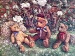 Teddy Bears and Roses