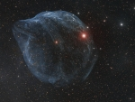 Sharpless 308 Star Bubble
