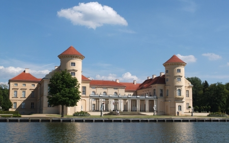 Rheinsberg Castle, Germany - history, lake, castle, Germany
