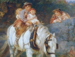 Kids on a Horse