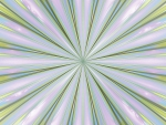 Green and Purple Radial Fractal