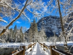 Yosemite NP in winter