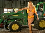 Cowgirl's Tractor..