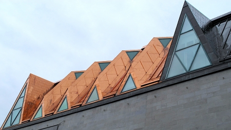 Skylight Roof - architecture, skylights, buildings, modern, roofs, design