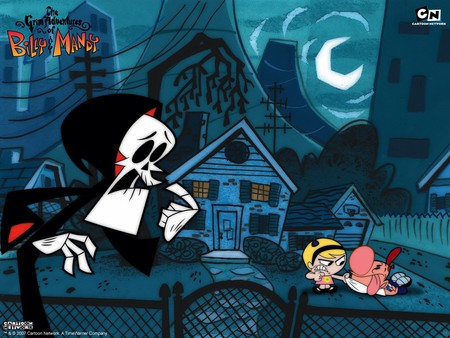 The Grim Adventures - cartoon, billy and mandy, grim adventures, grim