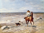 Horseback Riding on the Beach F