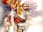 Carousel Horse and Rider