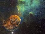 Sharpless 249 and the Jellyfish Nebula