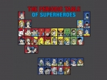 The Periodic Table Of Superheroes
