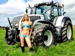 Cowgirl For Tractors..