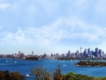 Veiw of Sydney From Taronga Zoo