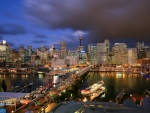 Veiw Of Darling Harbour Sydney