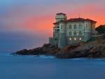 Sea House at Livorno,Italy