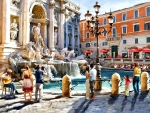 The Trevi Fountain F