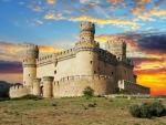 Manzanares el Real Castle, Spain