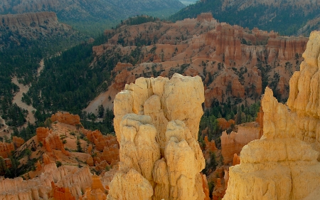 Bryce and Beyond - sandstone, mountains, rivers, canyons, bryce canyon