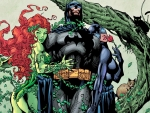 Poison Ivy and Catwoman and Batman