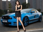 Mustang Of Blue