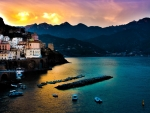 Beautiful Amalfi Coast,Italy