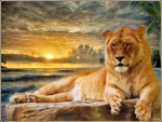 Leo, the lion * For Lioness (Patrice)