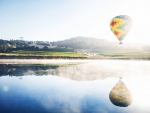 Hot Air Balloon Reflections