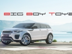 Big Boy Toyz Wallpaper - Range Rover Evoque 5D 2016