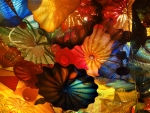 Blown Glass ceiling,Chihuly