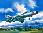 Soviet Training Fighter SU 9U F